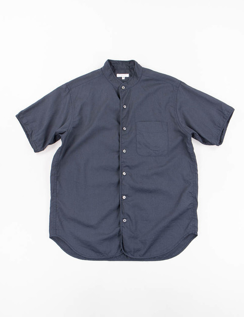 Navy CL Sheeting Copley Shirt