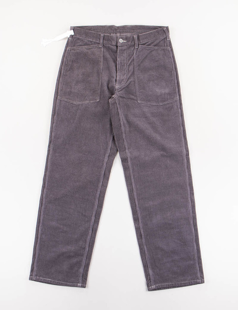 Charcoal Grey Army Denim Trousers