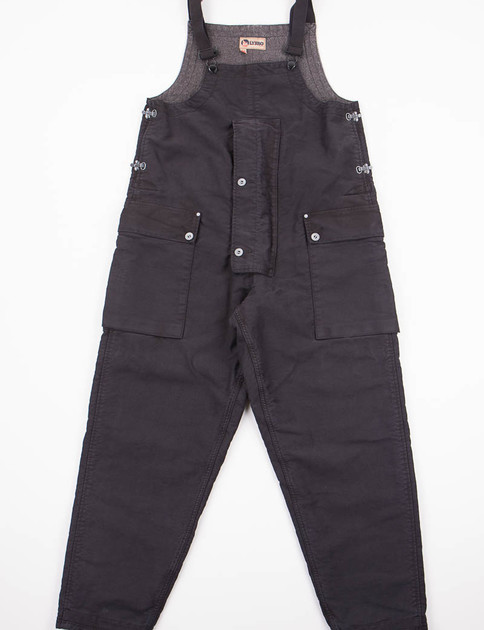 Lybro Dark Black Navy Naval Dungaree