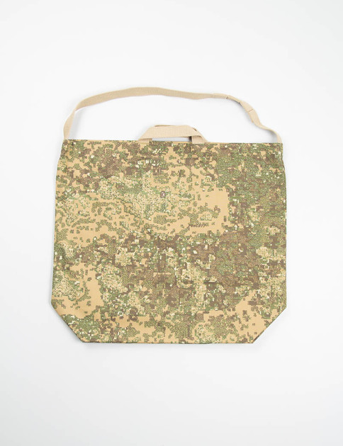 Brown Camo Nyco Ripstop Carry–All Tote
