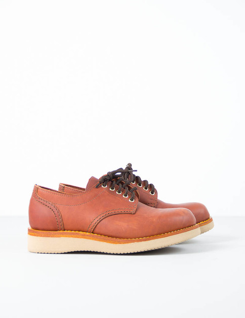Red Dog Leather Charles Oxford