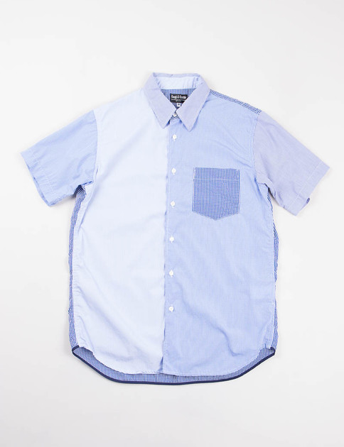 Light Blue/White Small Stripe Fun Shirt