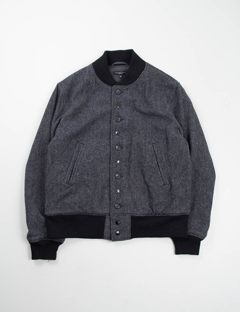 Dark Grey 13oz Herringbone TF Jacket
