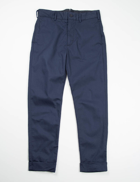 Dark Navy 8.5oz Chino Twill Cinch Pant