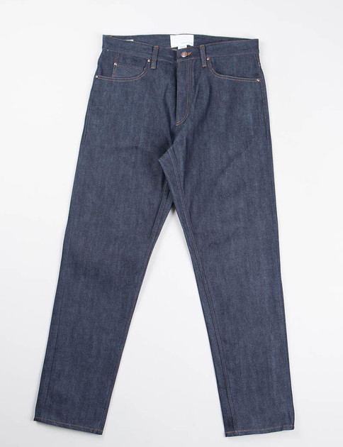 Indigo 5 Pocket Tapered Jeans