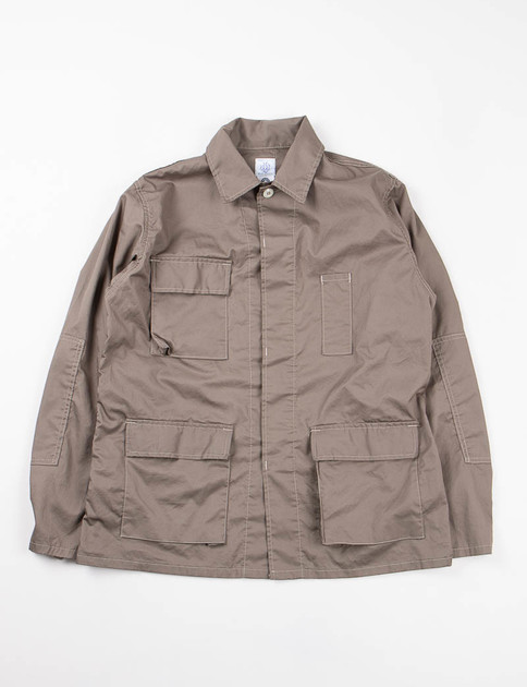 Olive Feather Twill BDU–R Jacket