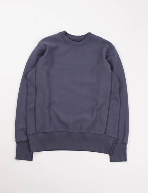 Navy Gusset Crew Trainer Sweat