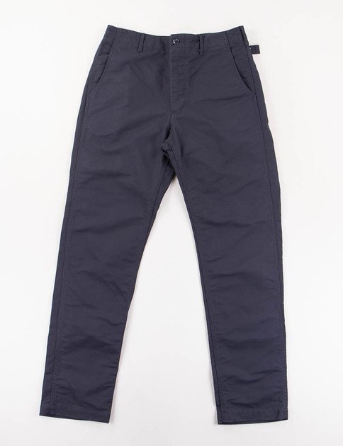 Dark Navy Cotton Double Cloth Ground Pant
