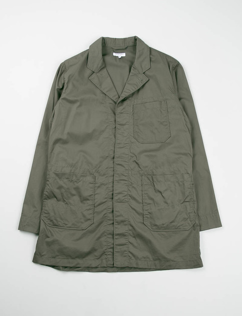 Olive Lightweight High Count Twill Shop Coat