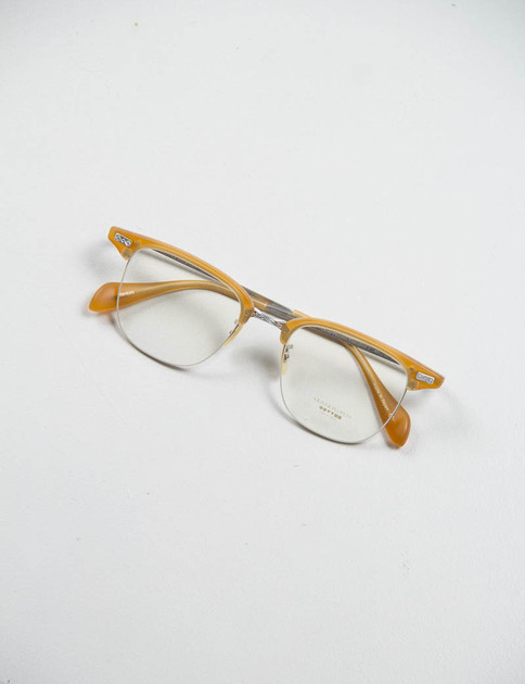 Matte Amber Tortoise/Brushed Silver Executive I Optical Frame