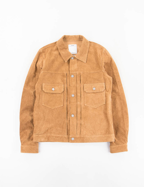 Camel Suede 101 Jacket IT