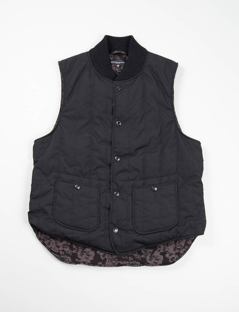 Black Weather Poplin Primaloft Fridge Vest