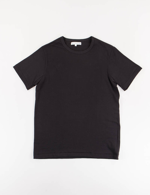 Deep Black 215 Organic Cotton Army Shirt