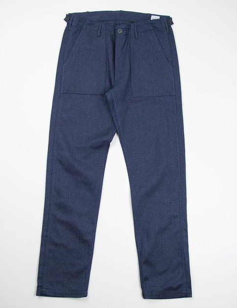 Slim Fit Heather Blue US Army Fatigue Pant