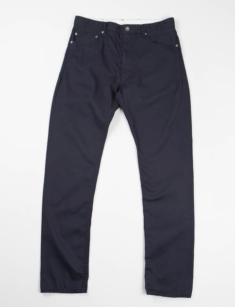Dark Navy 20's Cotton Twill Type 6 Jean
