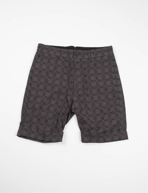 Grey Java Cloth Cinch Short
