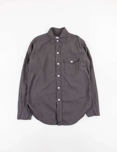 Charcoal Feather Chambray C–Post 9 Shirt