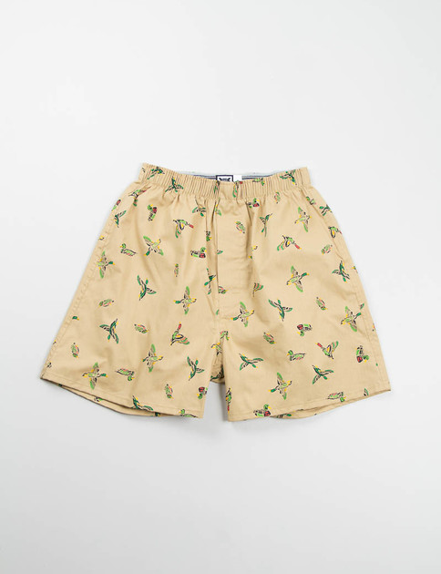 Brown Duck Boxer Shorts