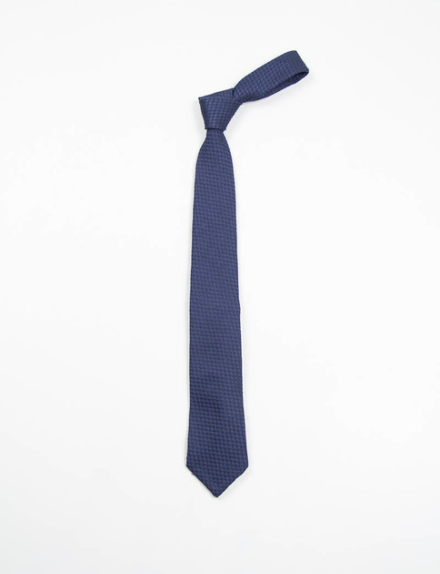 Navy Wool Neck Tie