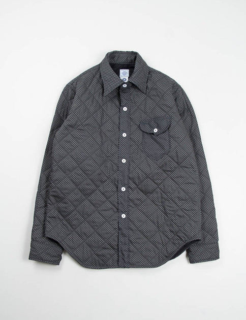 Black Optic Shirting/Nylon Quilt C–Post 8 Shirt