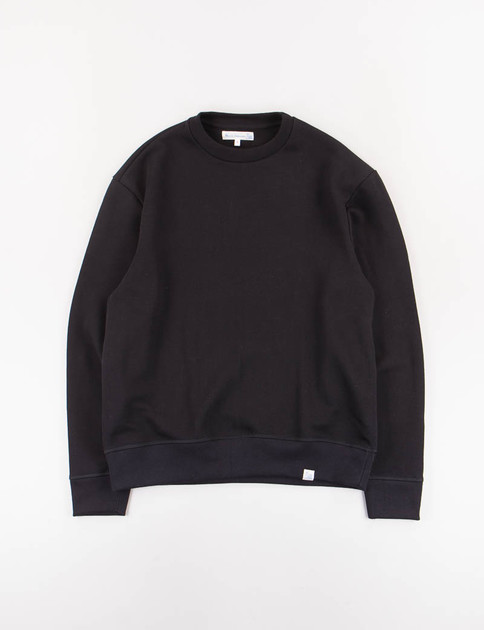Deep Black 346OS Organic Cotton Oversized Sweater