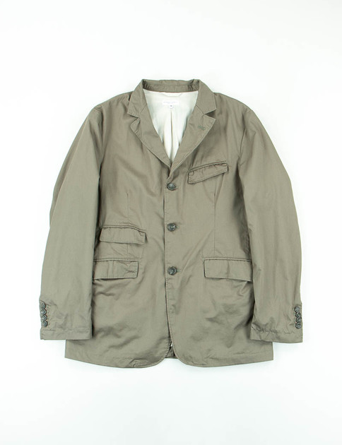 Olive High Count Twill Andover Jacket