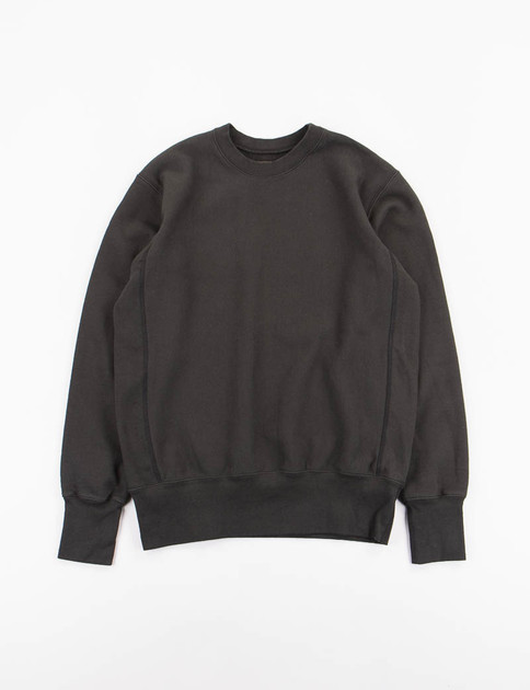 Black Gusset Crew Trainer Sweat