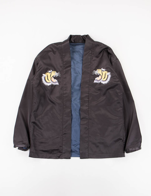 Black/Navy Reversible Haori Ska Jacket