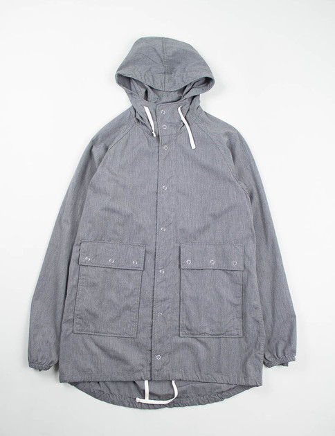 Grey Broken Chambray Light Parka