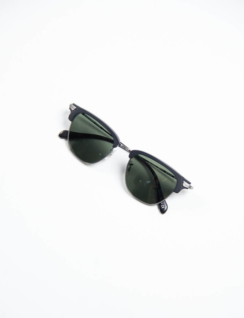 Pewter/Matte Black Banks Sunglasses