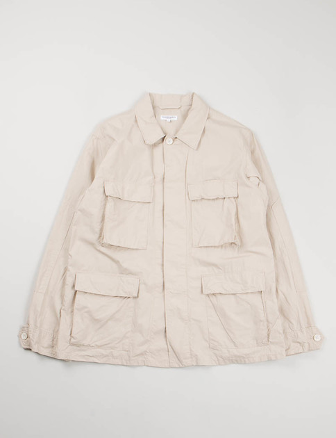 Beige High Count Broadcloth BDU Jacket