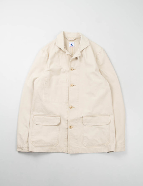 Sand Cotton Serge Mayenne Jacket