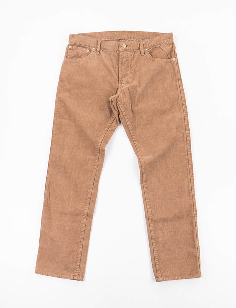 Light Brown Slub Corduroy Fluxus 10 Jean