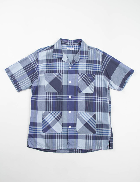 Navy/Blue Big Plaid Chauncey Shirt