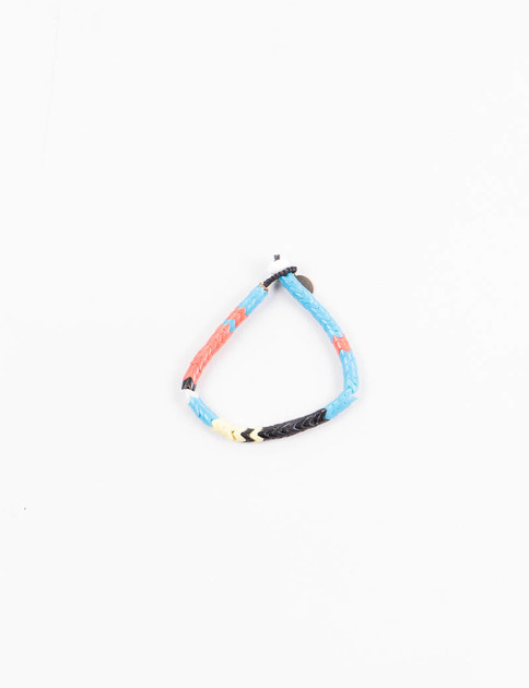 Mikia X United Arrows Blue Snake Bead Bracelet
