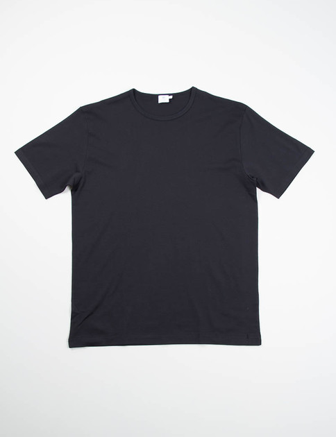Black Crew Neck T–Shirt