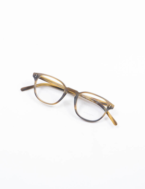 Matte Moss Tortoise Fairmont Optical Frame