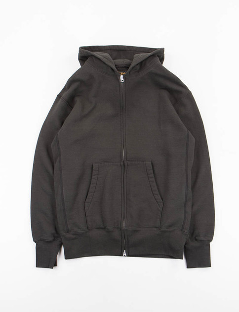 Black Zip Gusset Parka