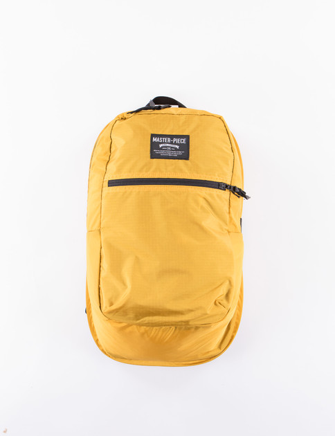 Yellow Pop N Pack Backpack