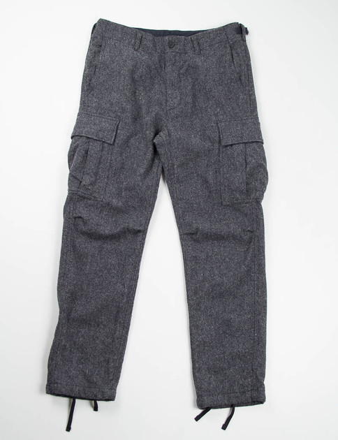 Grey 13oz Wool Flannel BDU Pant