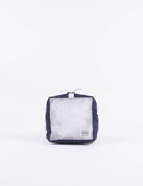 Navy/White Stand Snackpack Pouch M