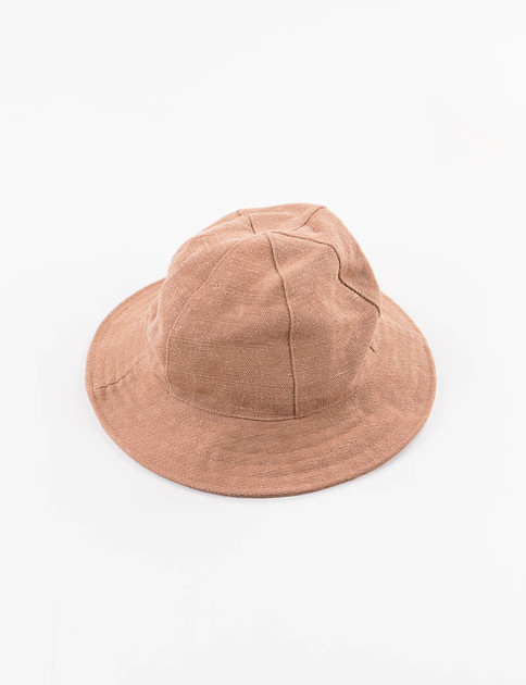 Brown Canvas Crusher Hat