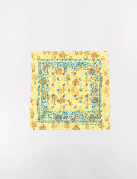 Yellow Printed Bandana