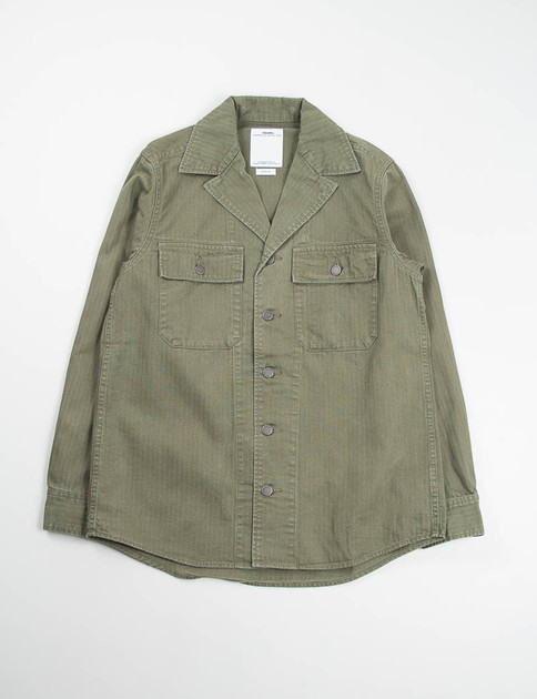 Olive Willard Shirt Jacket
