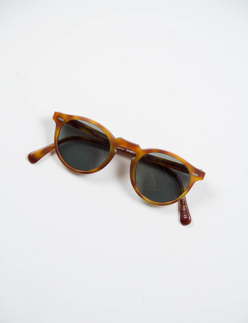 Semi–Matte LBR Gregory Peck Sunglasses