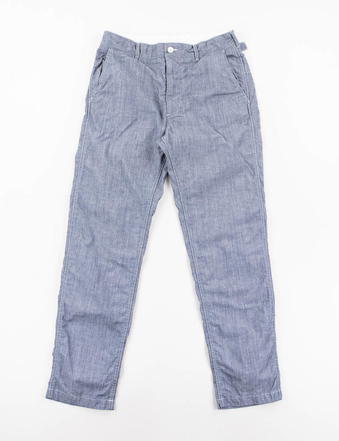 Blue Cone Chambray Ground Pant