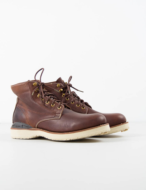 Brown Virgil Boots–Folk