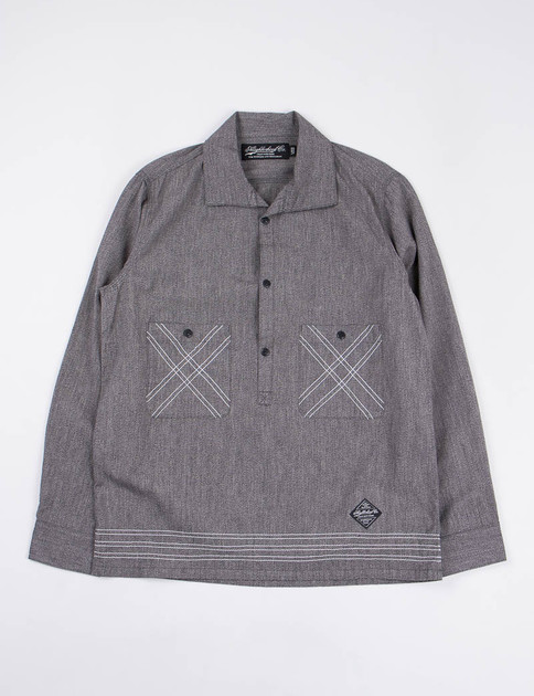 Black Chambray Union Shirt