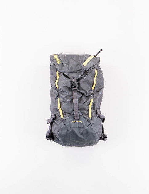 Forge Grey/Chromatic Yellow Nine Trails Pack 15L