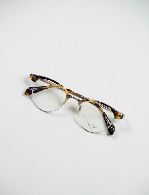 DTB/Antique Gold Executive II Optical Frame